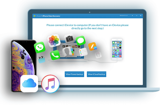 Jihosoft iPhone Data Recovery - Recover Data from iPhone