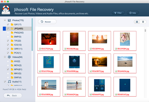 Free download Jihosoft File Recovery for Mac