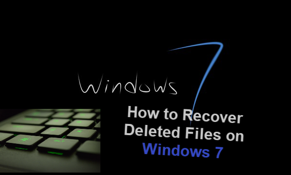 Windows 7 Data Recovery Software.