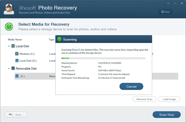 3 Steps to Recover Deleted MXF Files from Memory Card