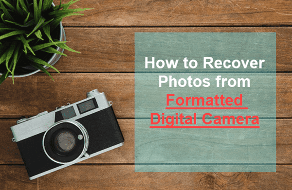 Digital Camera Photo Recovery.