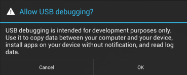 Enable USB Debugging on your Android Device