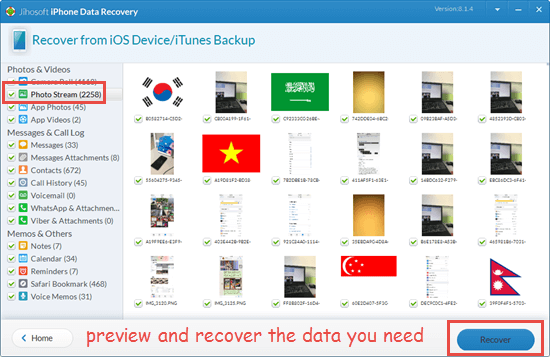 Recover data from water damaged iPhone directly