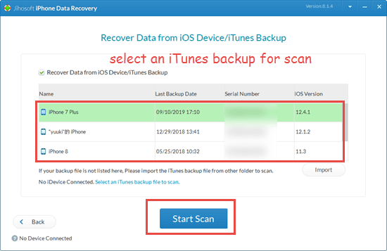 Retrieve data on water damaged iPhone from iTunes backup