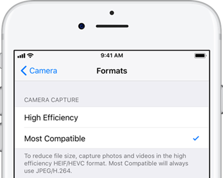 Make iPhone Camera Shoot JPEG Again in iOS 11
