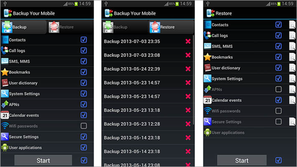 Backup Your Mobile is one of the Top 10 Best Free Android Backup Apps 2019.