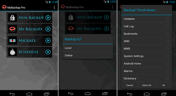 My Backup is one of the Top 10 Best Free Android Backup Apps 2019.
