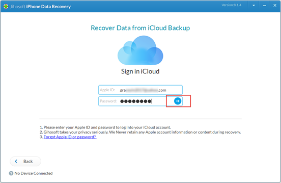 Restore Deleted Text Messages from iCloud Backup