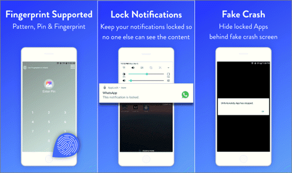 Using AppLock to Hide Apps on Android Phone