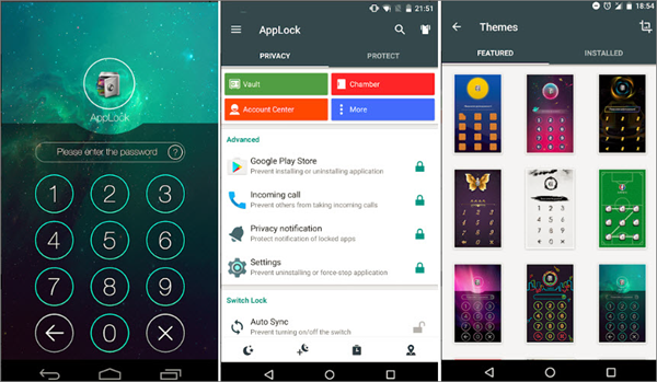 Using Applock by DoMobile to Hide Apps on Android Phone