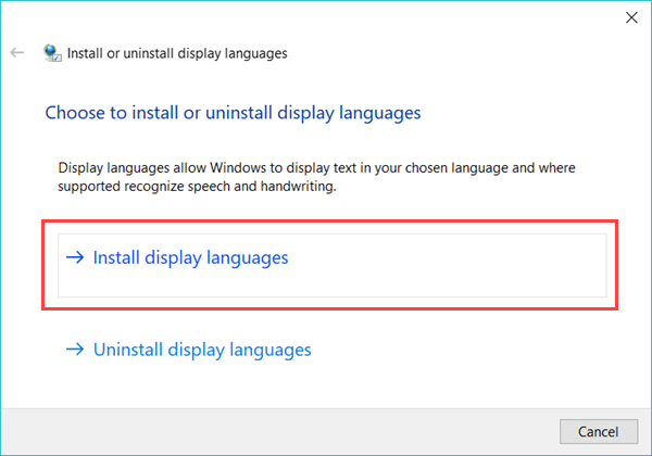 Fixed) How to Download and Install Windows 10 Language Pack