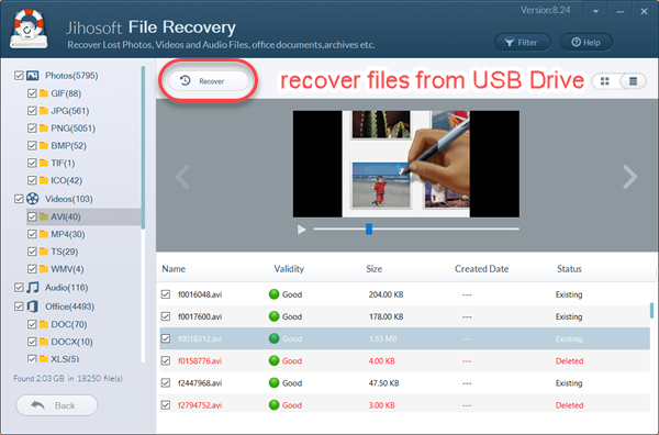 Recover Files from USB Drive