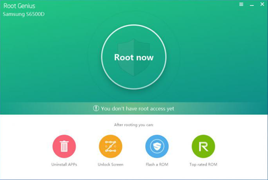 Root Genius is one of the best Android Root Softwares.