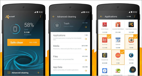 Avast is one of Top 5 Best Antivirus Apps for Android for Virus Removal.