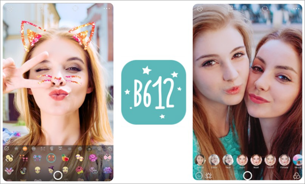 B612 – Selfiegenic Camera is one of the Best 5 Snapchat Like Face Filter Apps for Android 2019.