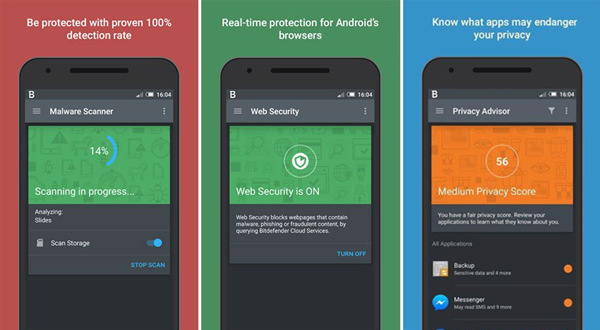 Bitdefenderis one of Top 5 Best Antivirus Apps for Android for Virus Removal.
