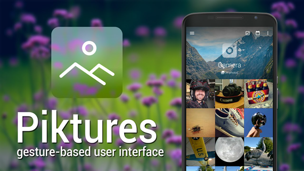 Piktures is one of the 5 Best Free Gallery Apps for Android 2019.