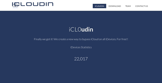iCloudin is one of Top 4 Latest iCloud Activation Lock Removal Tools in 2018.