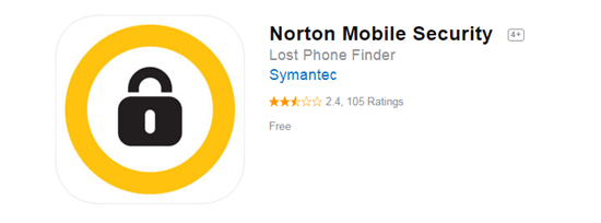 Norton Mobile Security is one of the top 8 Best Free Antivirus for iPhone/iPad in 2019.