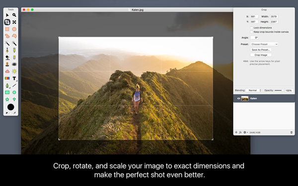 Acorn 6 Image Editor is one of the Best 9 Softwares to Replace Photo Background.