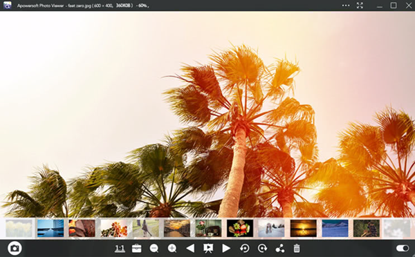 Apowersoft Photo Viewer is one of Windows Photos Alternatives to View Photos on Windows 10.