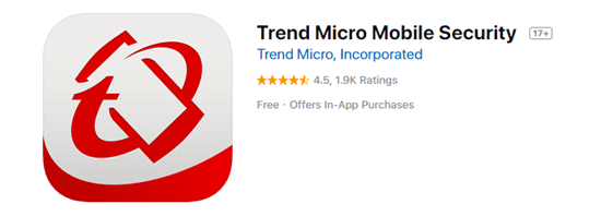 Trend Micro Mobile Security is one of the top 8 Best Free Antivirus for iPhone/iPad in 2019.