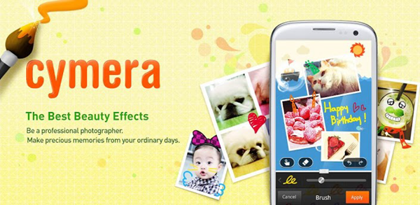 Cymera is one of the Best Free Camera Apps for Android 2019.