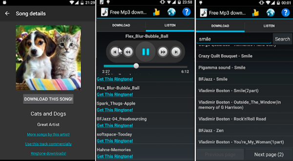 Download MP3 Music is one of Best 8 Free Offline Music Downloader Apps for Android.