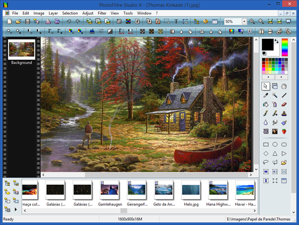 PhotoFiltre is one of the best 6 Free Photo Editor Softwares for Windows PC.