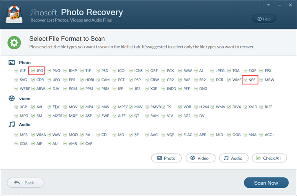 Recover Deleted Photos from Nikon DSLR