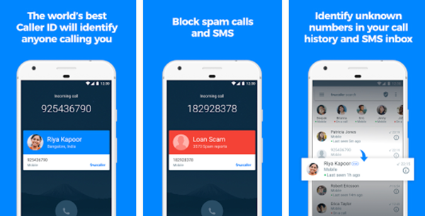 Truecaller is one of the Best 5 Call Blocker Apps for Android.