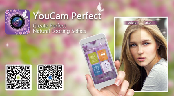 YouCam Perfect is one of the Best Free Camera Apps for Android 2019.