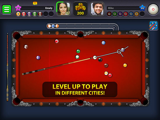 8 Ball Pool 4.7/370.6K #3 is one of the top 10 Best 2 Player Games for iOS.