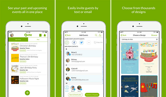 Evite Is One Of The Top 10 Best Party Planning Apps For IPhone