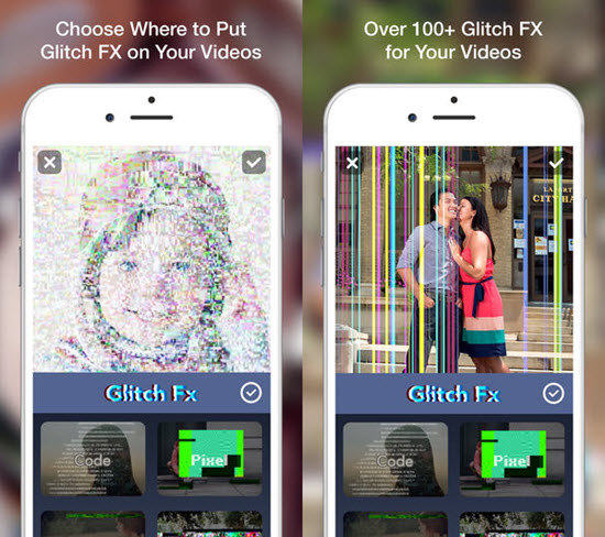Glitch Art is one of the 7 Best iPhone Photo Editor Apps with Amazing Filter and Effects.