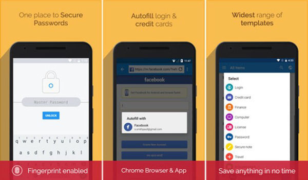 Enpass Password Manager is one of the top 6 Best Android Password Manager Apps.