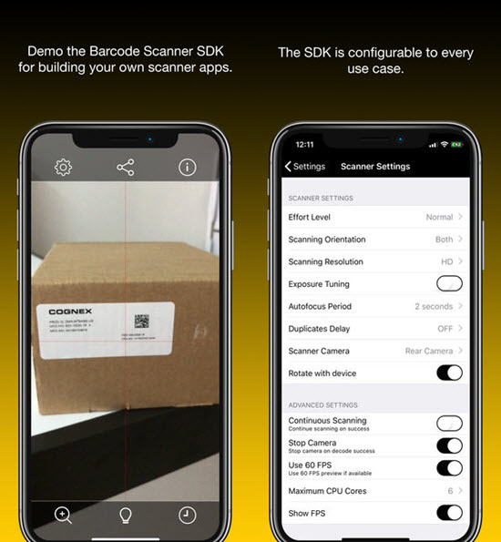Barcode Scanners is one of the best Barcode and QR-Code Scanner Apps for iPhone in 2019.