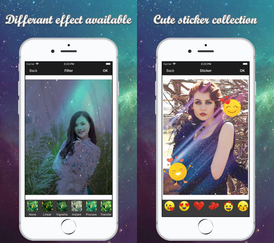 Space Effect is one of the 7 Best iPhone Photo Editor Apps with Amazing Filter and Effects.
