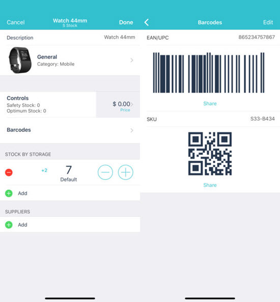 Inventory Control with Scanner is one of the best Inventory Management Apps for iOS in 2019.