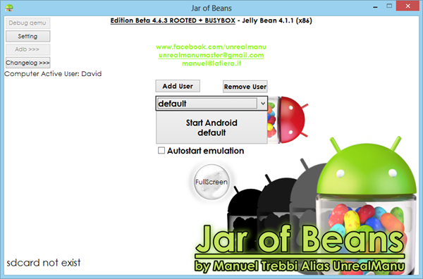 Jar of Beans is one of the best Free Online Android Emulators For Windows.