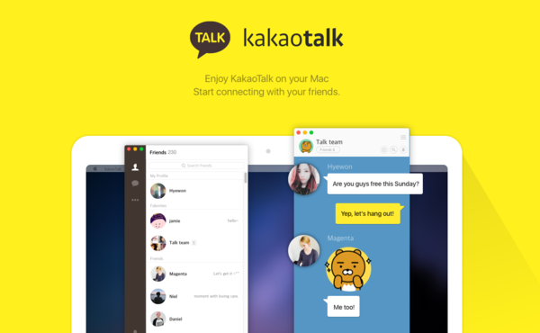 Kakao Talk is one of the Best Calling Apps for Android.