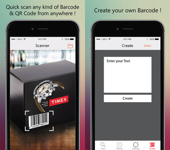Magic Scanner is one of the best Barcode and QR-Code Scanner Apps for iPhone in 2019.