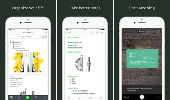 Evernote is one of the top 10 Best Party Planning Apps for iPhone.