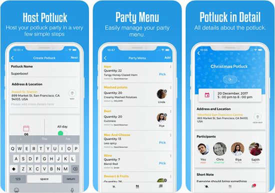 PotluckHub Party Planner is one of the top 10 Best Party Planning Apps for iPhone.