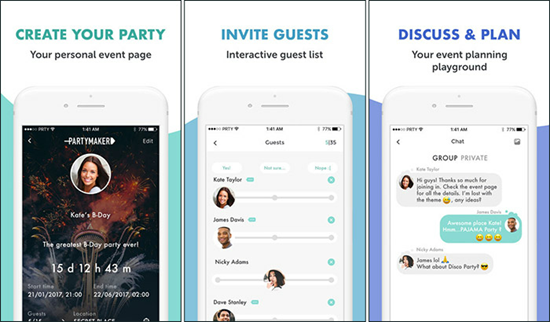 PartyMaker is one of the top 10 Best Party Planning Apps for iPhone.