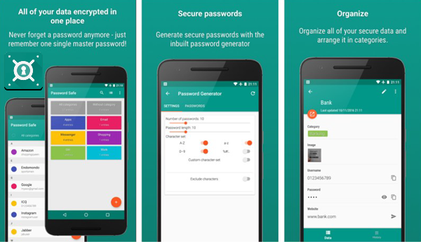 Password Safe And Manager is one of the top 6 Best Android Password Manager Apps.