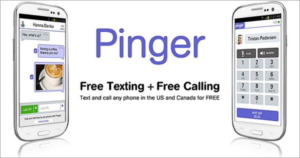 Pinger for Android is one of the Best Calling Apps for Android.