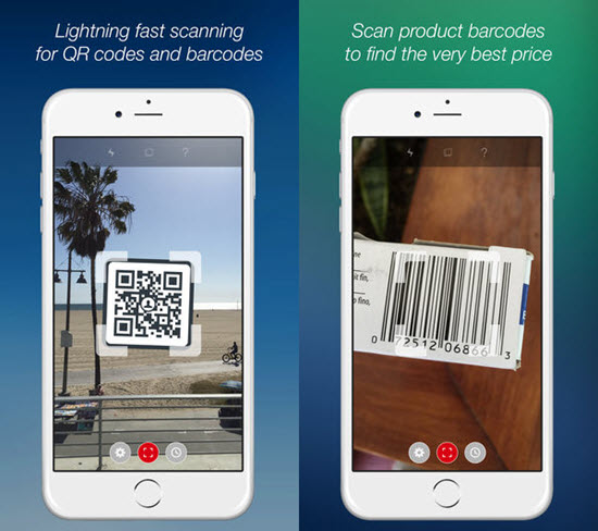 Scan is one of the best Barcode and QR-Code Scanner Apps for iPhone in 2019.