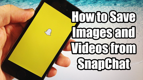 Save Photos and Videos in Snapchat on Android
