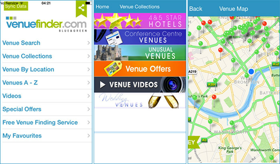 Venue Finder is one of the top 10 Best Party Planning Apps for iPhone.